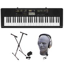 Casio CTK2400 PPK 61-Key Portable Keyboard Package with