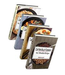 Cast Iron Skillet Cookbook Box Set: Delicious Breakfast,