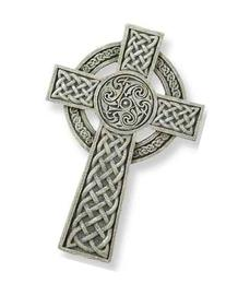 Celtic Irish Wall Cross 9 inch Joseph Studio by Roman
