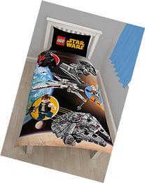 Star Wars Lego Space Reversible Single Duvet