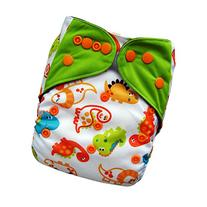 EcoAble Baby Charcoal Bamboo All-In-One AIO Cloth Diaper w/