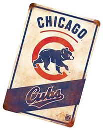 Chicago Cubs Retro Sign 8 X 12