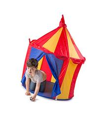 Children's Indoor Play Tent -- CIRCUS TENT- Great Gift for