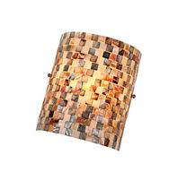 Chloe Lighting CH3CD28BC08-WS1 Shelley Mosaic 1-Light Wall