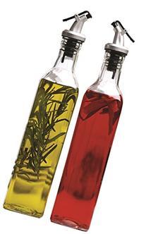 Circleware Oliveto Olive Oil and Vinegar Glass Dispenser
