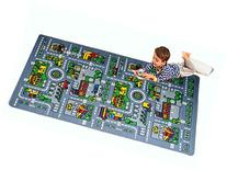 Kids Rug City Map Fun Play Rug 5' X 7' Children Area Rug -
