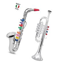 Click n' Play Set of 2 Musical Wind Instruments for Kids -