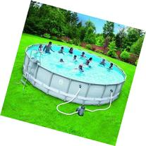 Coleman-22-x52-Power-Steel- Frame Above-Ground Swimming Pool