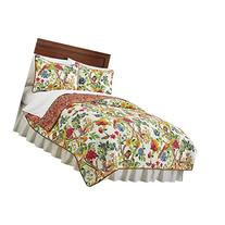 Kew Gardens Reversible Floral Quilt, Multi, Full/Queen
