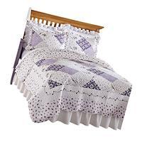 Wilmington Floral Patchwork Reversible Lightweight Quilt,