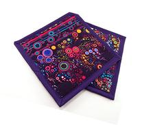 Colorful Cotton Potholders - Set of Two 8 Inch Hot Pads -
