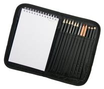 Compact and Portable Sketch Folio 1 Drawing Kit with Art