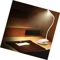 Cordless Clip Desk Lamp - 14 Long Life LEDs - Built-in