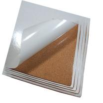 Cork Sheet with Adhesive 12In X 36In X 1/2In Thick- 5Pcs Set