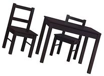 Cosco Hazel Kids Table and Chairs Set Espresso