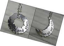 Couple Necklace My Sun and Stars/moon of My Life Khal &