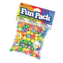 Cousin Fun Packs 210-Piece Multi Heart Beads