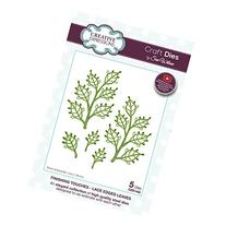 Creative Expressions CED1456 Lace Edged Leaves