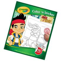 Crayola Jake and The Neverland Pirates Color 'n Sticker