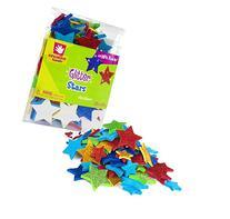 Creative Hands by Fibre-Craft Foam Glitter Stickers 2-1/4-