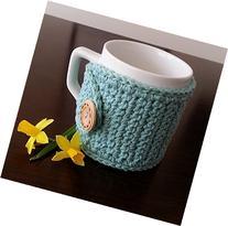 Coffee Mug Cozy Cotton Seabreeze
