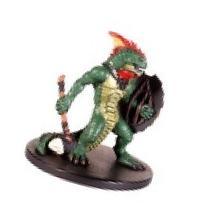 D & D Minis: Lizardfolk # 35 - Harbinger