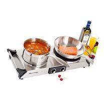 DUXTOP 1800W Portable Electric Cast Iron Cooktop Countertop