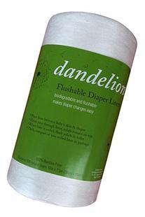 Dandelion Diapers Flushable Diaper Liners, 100 Count