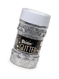 Darice 1146-42 Big Value Glitter, 4-Ounce, Silver