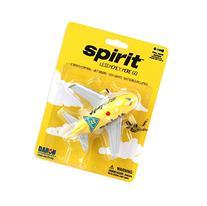 Daron Spirit Airlines Pullback Plane with Lights & Sound