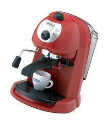 DeLonghi espresso / cappuccino Maker-Red EC200N-R