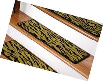 "Dean Premium Carpet Stair Treads - Tiger 30"" x 9"