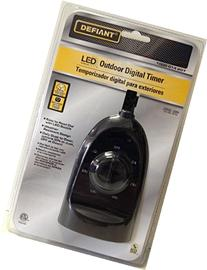 Defiant YLT-32 15 Ampere Outdoor Digital Timer Dual-Outlet