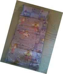 Deluxe Take-along Sleeping Mat - Pretty Princess in Lavender