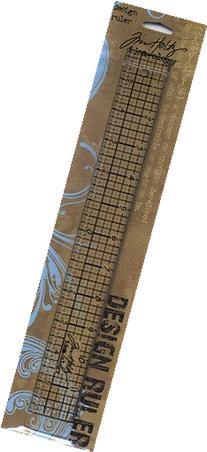Tim Holtz Acrylic Design Ruler 12