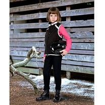 Devon-Aire Childs Power Fleece Breeches SM Black