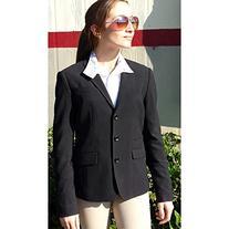 Devon-Aire Ladies Signature Show Coat XL Black