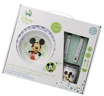 Disney Baby Melamine Set, Mickey Mouse