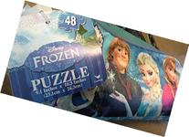 Disney Frozen 48-piece Puzzle Pouch; Convert to Pencil Pouch