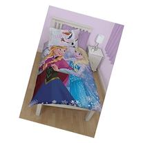 Disney Frozen Childrens/Kids Warm Hugs Reversible Twin Duvet