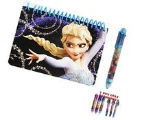 Disney Frozen Elsa The Queen Spiral Autograph Book and 1 Pen