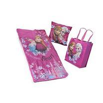 Disney Frozen Girls Sleepover Set - Sleeping Bag, Tote Bag