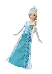 Mattel Disney Frozen Sparkle Princess Elsa Doll