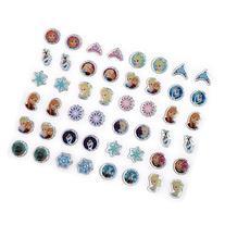 Disney Frozen Sticker Earrings Girls Dress Up Accessories 24