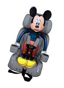 KidsEmbrace 2-in-1 Harness Booster Car Seat, Disney Mickey