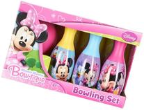 Disney Little Girls' Minnie Mouse Bow-tique Bowling Set