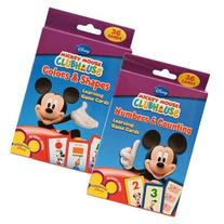 Disney Mickey Mouse Clubhouse Flash Cards Set - Featuring
