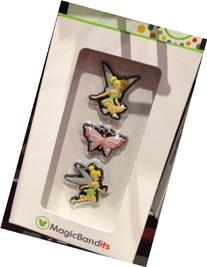 Disney Parks Tinkerbell Magic Band Bandits Set of 3 Charms