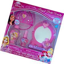 Disney Princess Royal Bath Vanity 5 Pc Includes Dress-up
