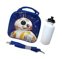 Disney Star Wars Blue Bb-8 Lunch Bag with Water Bottle &